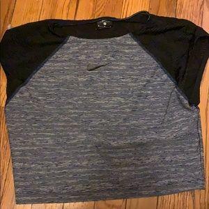 Nike dri fit crop top